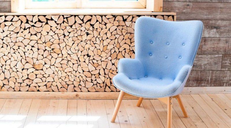 krzesło z ekoskóry