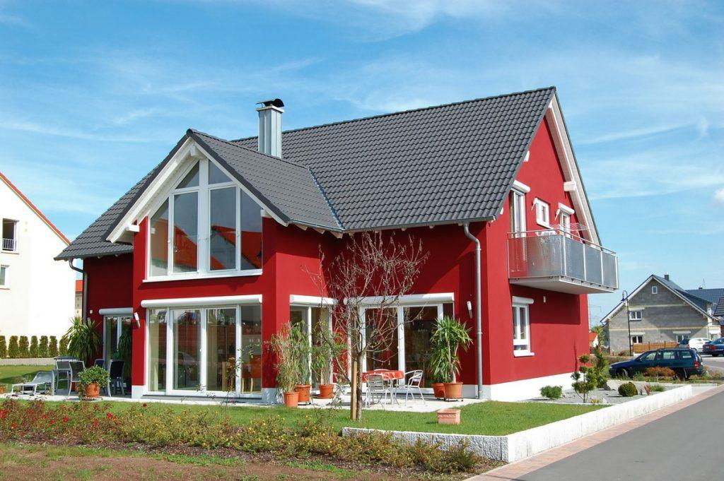 Nowoczesny dom z rekuperacją zamontowaną przez firmę MAT-KOM