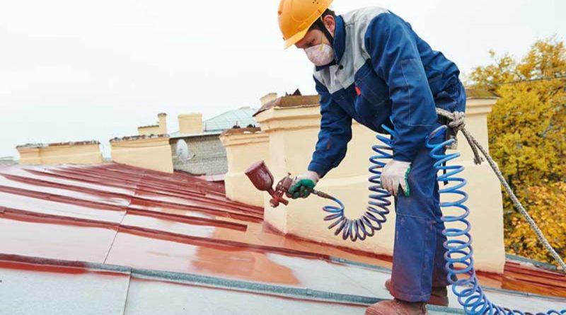 malowanie dachu