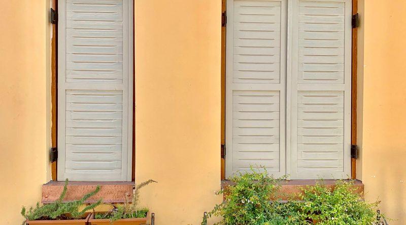 prywatność mieszkając na parterze
